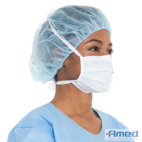 Surgical 3 Ply Disposable Face Masks with Tie On