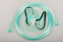 Disposable Medical Oxygen Mask with Tubing
