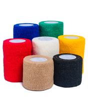 Soft and Easy Tear Self-Adhesive Non Woven Cohesive Bandage