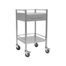 Clinicart Stainless Instrument Trolley 500x500x900mm