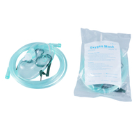 Medical Disposable Oxygen Mask with Tubing for Adult And Pediatric